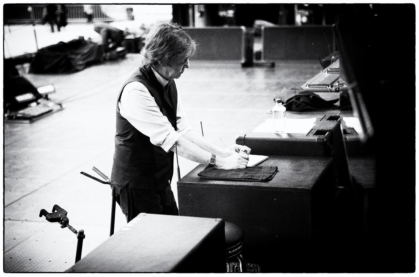 With paul mccartney a world spanning collection of images by mj kim